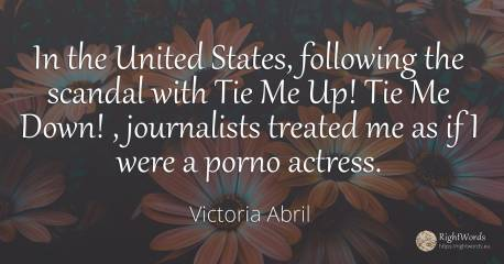 Quotes by Victoria Abril